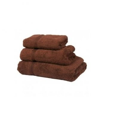Kilpinis rankšluostis 50 x 90 cm, rudos spalvos