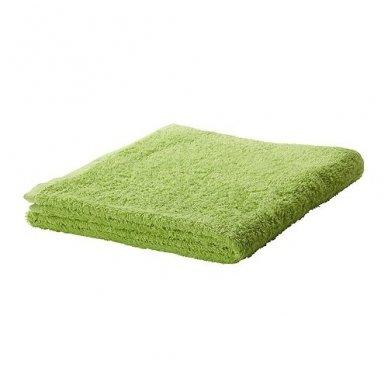 Kilpinis rankšluostis 50 x 90 cm, žalios spalvos
