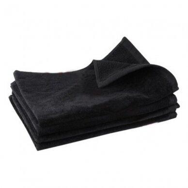 Kilpinis rankšluostis 50 x 90cm, juodos spalvos