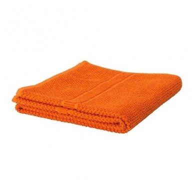 Kilpinis rankšluostis 70 x 140 cm, oranžinės spalvos