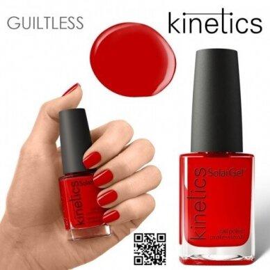 Nagų lakas Kinetics SolarGel #464 Scarlet Letter, 15ml