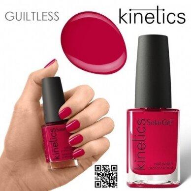 Nagų lakas Kinetics SolarGel #465 Bloody Red, 15ml
