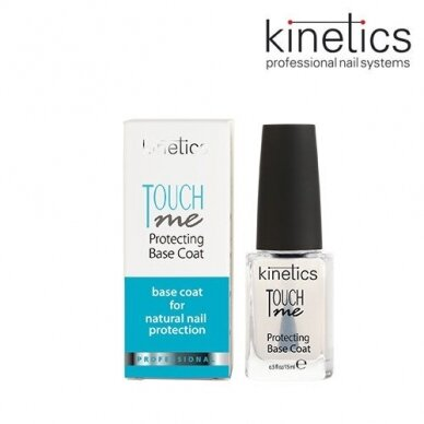 Kinetics Nagų lako pagrindas, Touch Me Base Coat, 15ml