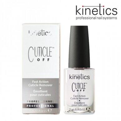 Kinetics nagų odelių šalinimo priemonė CUTICLE REMOVER, 15ml