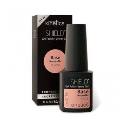 Kinetics SHIELD gelio lako bazė ir spalva EQUAL BEIGE KGPBN904, 15 ml
