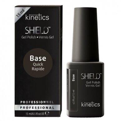 Kinetics Shield Quick gelinis nagų lako pagrindas , 15ml