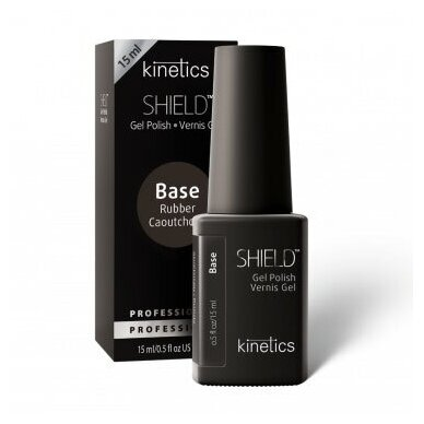 Kinetics Shield Rubber gelinis nagų pagrindas, 15ml