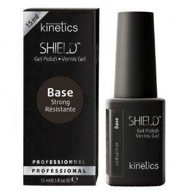 Kinetics Shield Strong Base gelinis nagų lako pagrindas, 15ml