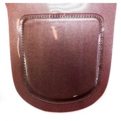 Kirpimo apykaklė Osom Professional Collar, termoplastikas, raudonos sp. 3