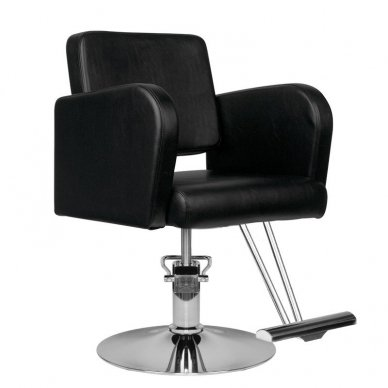 Kirpklos kėdė HAIR SYSTEM HS92, juodos sp.