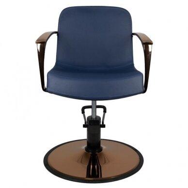 Kirpyklos kėdė GABBIANO BOLONIA, mėlynos sp. 4