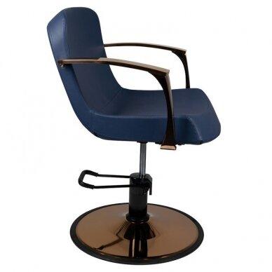 Kirpyklos kėdė GABBIANO BOLONIA, mėlynos sp. 5
