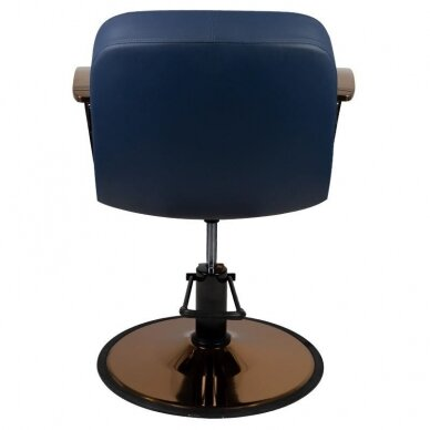 Kirpyklos kėdė GABBIANO BOLONIA, mėlynos sp. 2