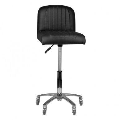 Kirpyklos kėdė GABBIANO, juodos sp. 3
