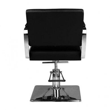 Kirpyklos kėdė HAIR SYSTEM HS202, juodos sp. 4