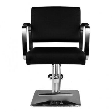 Kirpyklos kėdė HAIR SYSTEM HS202, juodos sp. 5