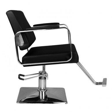 Kirpyklos kėdė HAIR SYSTEM HS202, juodos sp. 3