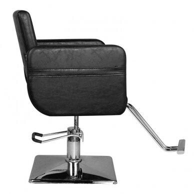 Kirpyklos kėdė HAIR SYSTEM SM311, juodos sp. 2