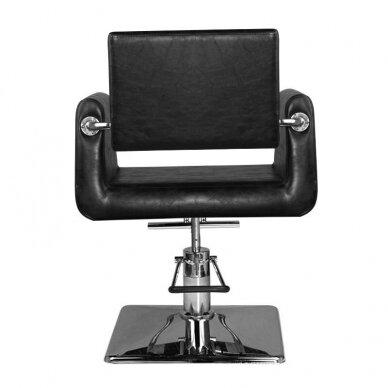 Kirpyklos kėdė HAIR SYSTEM SM313, juodos sp. 4