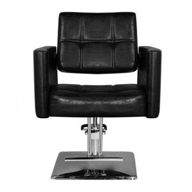 Kirpyklos kėdė HAIR SYSTEM SM344, juodos sp. 3