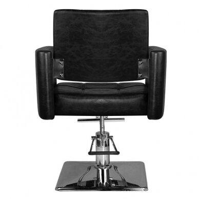 Kirpyklos kėdė HAIR SYSTEM SM344, juodos sp. 4