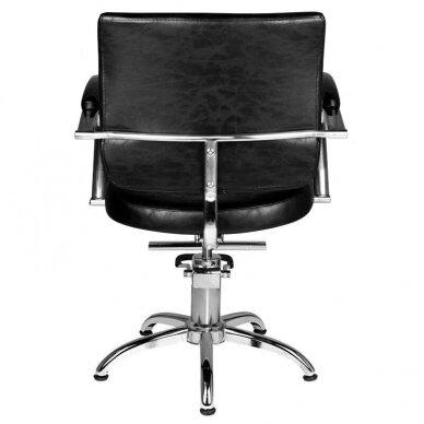 Kirpyklos kėdė HAIR SYSTEM SM361, juodos sp. 2