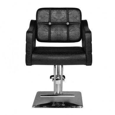 Kirpyklos kėdė HAIR SYSTEM SM362, juodos sp. 2