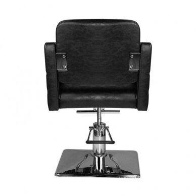 Kirpyklos kėdė HAIR SYSTEM SM362, juodos sp. 4