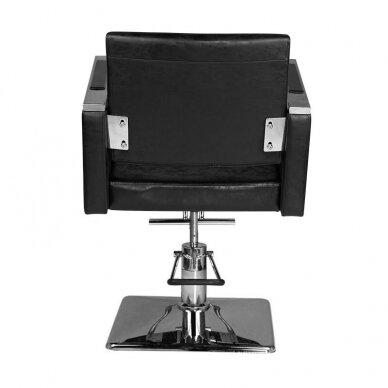 Kirpyklos kėdė HAIR SYSTEM SM363, juodos sp. 4