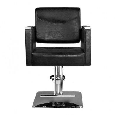 Kirpyklos kėdė HAIR SYSTEM SM363, juodos sp. 2