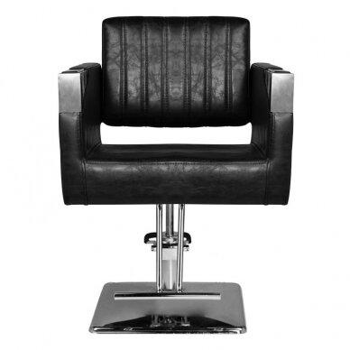 Kirpyklos kėdė HAIR SYSTEM SM367, juodos sp. 4