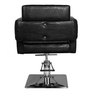 Kirpyklos kėdė HAIR SYSTEM SM367, juodos sp. 5