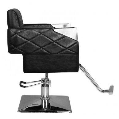 Kirpyklos kėdė HAIR SYSTEM SM367, juodos sp. 2