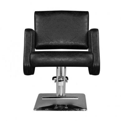Kirpyklos kėdė HAIR SYSTEM  SM376, juodos sp. 5