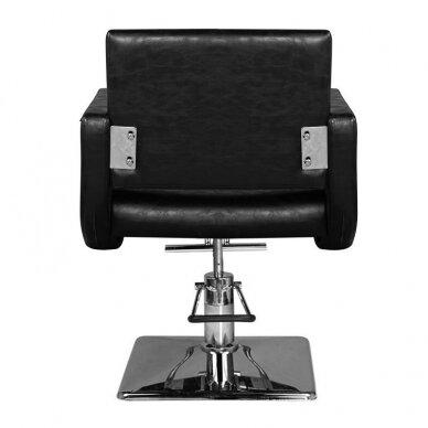 Kirpyklos kėdė HAIR SYSTEM  SM376, juodos sp. 3