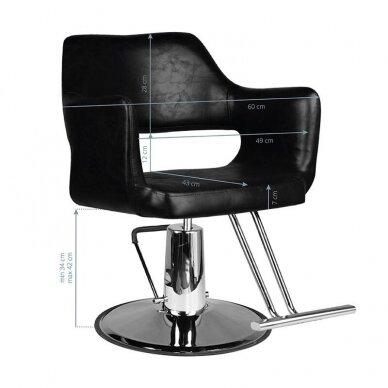Kirpyklos kėde SM339, juodos sp. 2
