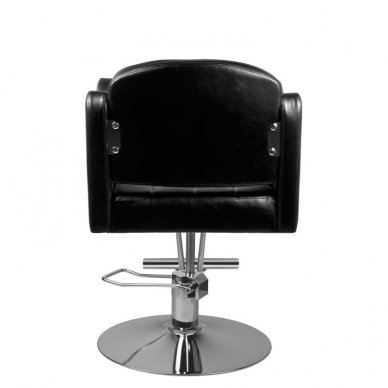 Kirpyklos krėslas 0-90, juodos sp. 4