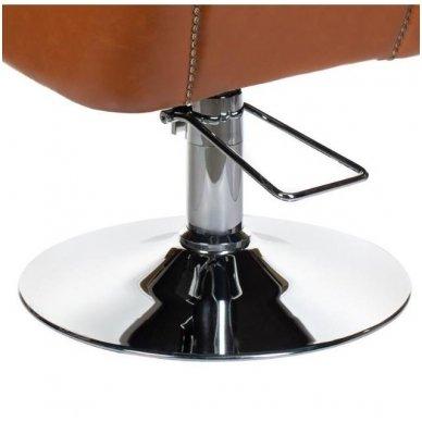 Kirpyklos krėslas ALBERTO BH-8038, šviesiai ruda sp 4