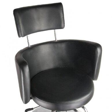 Kirpyklos krėslas BR-3927, juodos sp. 3