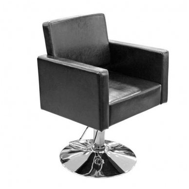 Kirpyklos krėslas Y195, juodos sp.