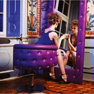 Kirpyklos laukiamojo sofa SWAROVSKI CRYSTALS, individuali gamyba 12