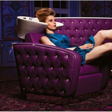 Kirpyklos laukiamojo sofa SWAROVSKI CRYSTALS, individuali gamyba 10