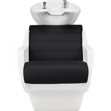 Kirpyklos plautuvė TECHNO, juoda-balta sp. 3