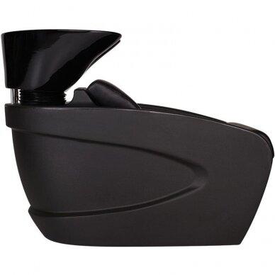 Kirpyklos plautuvė VANITY FULL BLACK, juodos sp. 2