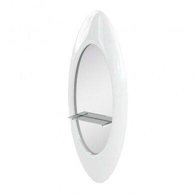 Kirpyklos veidrodis su lentyna PEARL