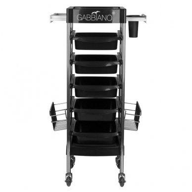 Kirpyklos vežimėlis FX11E BLACK 2