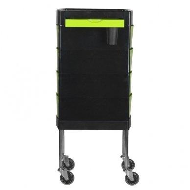 Kirpyklos vežimėlis GABBIANO FT65-1 BLACK/GREEN 4