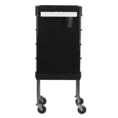 Kirpyklos vežimėlis GABBIANO FT65-1 BLACK/WHITE 4