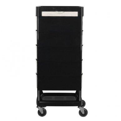 Kirpyklos vežimėlis GABBIANO FT65 BLACK/WHITE 4