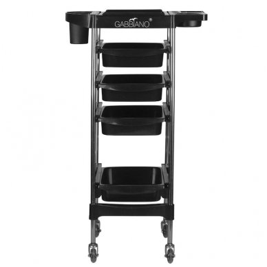 Kirpyklos vežimėlis GABBIANO FX11-2 BLACK 4